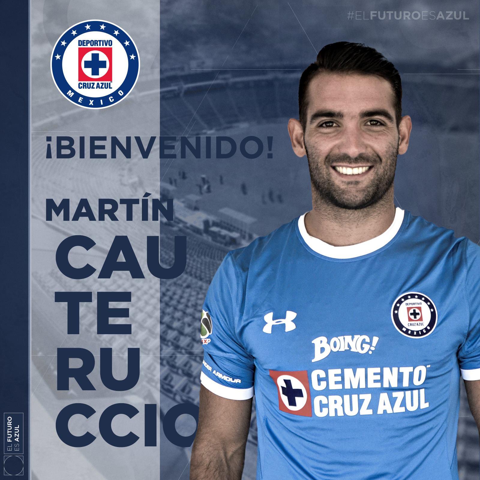 Confirmado Martín Cauteruccio