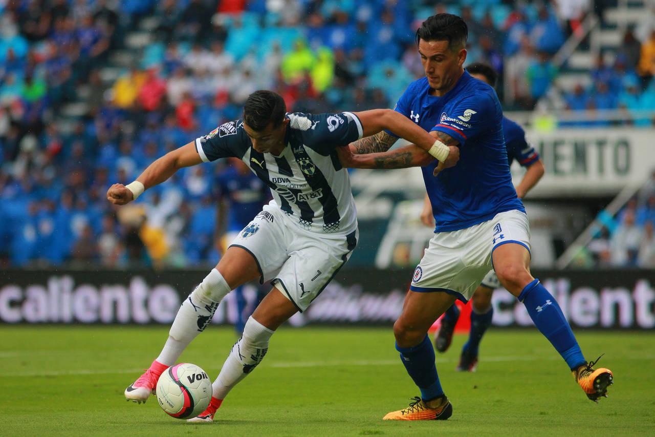 Cruz Azul y Monterrey mantienen el invicto tras empatar