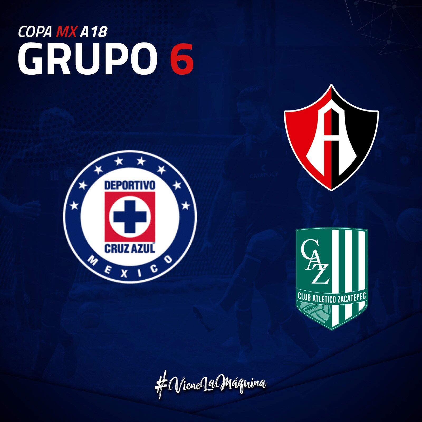Listo Grupo de la Copa MX