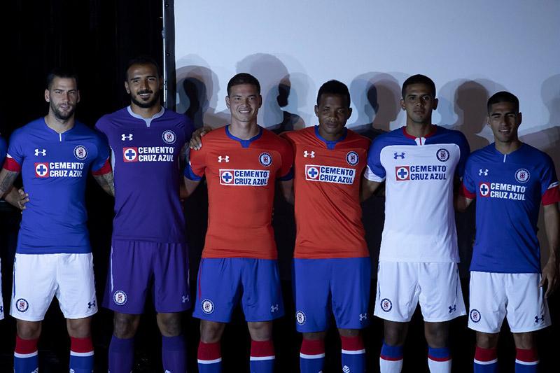 Uniforme Cruz Azul Apertura 2018