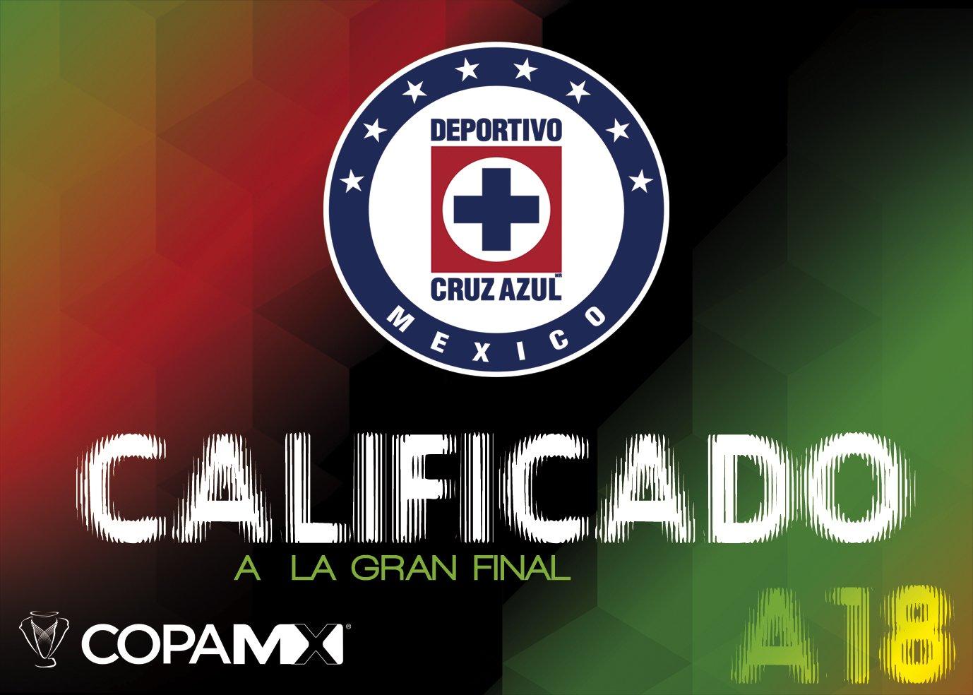 Cruz Azul en final de la Copa MX