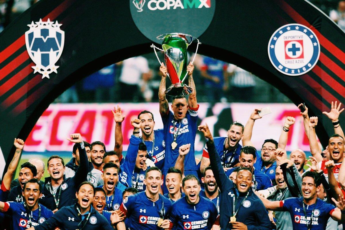Mejores Fotos de Cruz Azul Campeón Copa MX